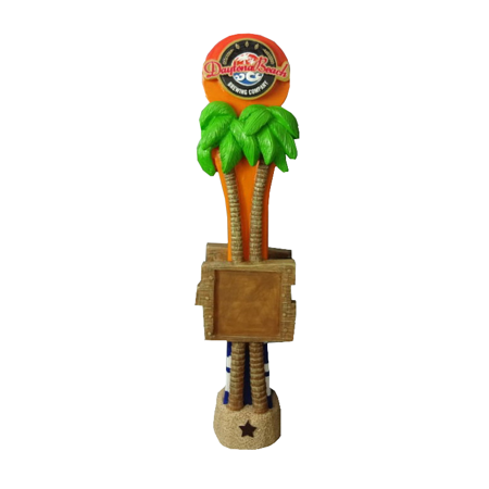 Custom Made Palm Tree Tap Handle