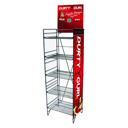 Metal Rack Display