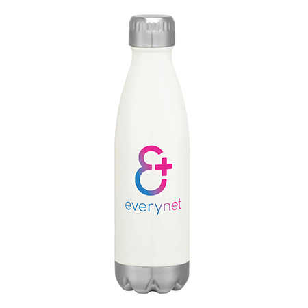 Insulated Water Bottle with Twist Off Cap