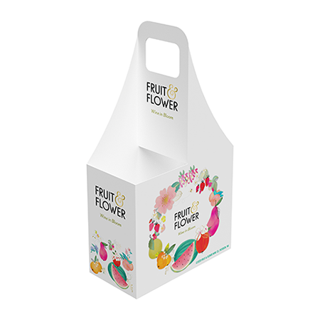 Fruit & Flower 2 Can Carrier