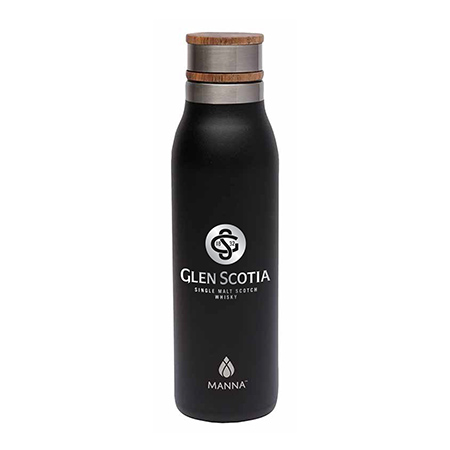 Manna Water Bottle with Wood Cap