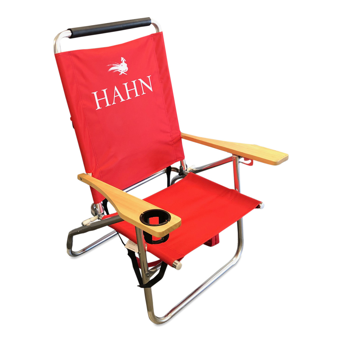 Folding Lawn Chair with Cup Holder