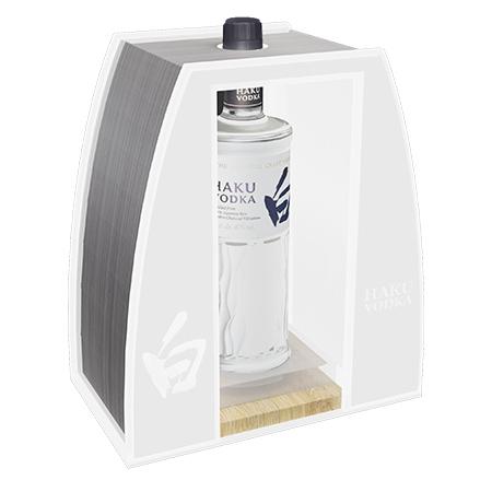 Custom Design Bottle Presenter
