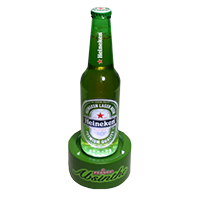 Heineken-bottle-glorifier-pedestal
