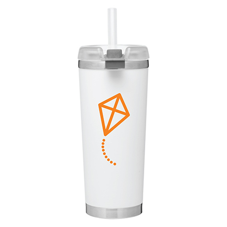 Graphic Design Travel Tumbler