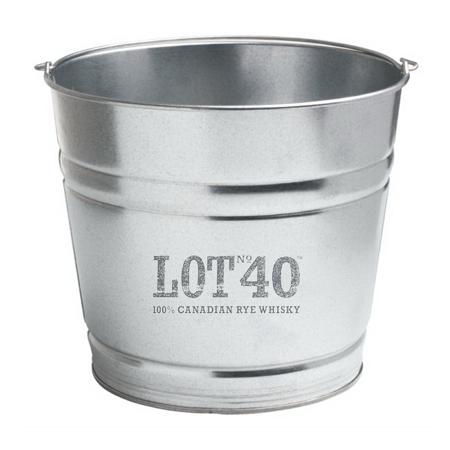 Metal Pail Ice Bucket