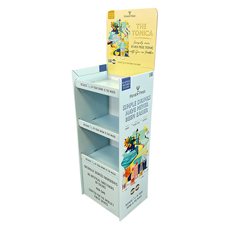 Summer Corrugated shelf Display