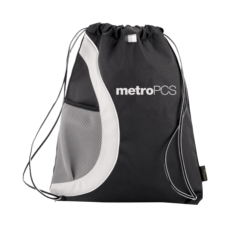 metropcs athletic drawstring bag