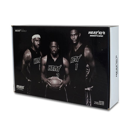 Miami Heat Custom Packaging