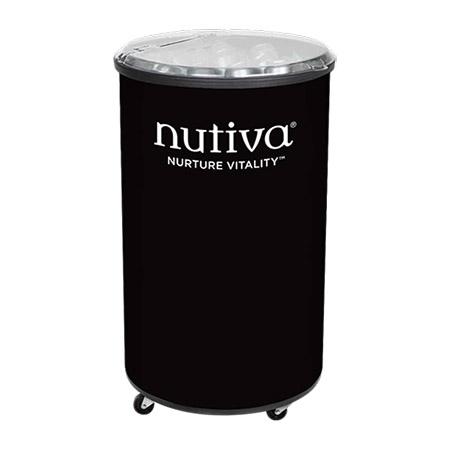 Nutiva Rolling Barrel Cooler