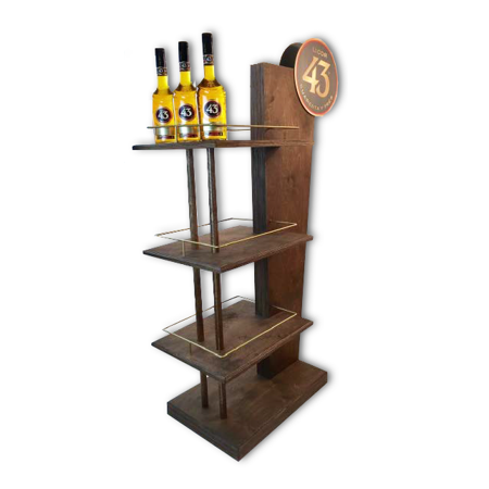 Point of Purchase Wood Display