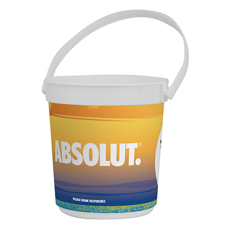 Custom 32 oz Drink Pail