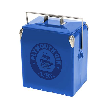 Cooler with Lock Handles