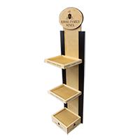 Riboli-family-wines-wood-floor-display-wood-pop-display