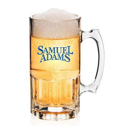 Custom Glass Beer Pitchers
