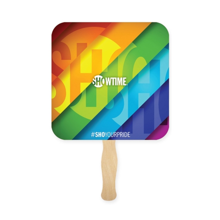 Full Color Square Handfan