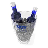 Sky-vodka-acrylic-ice-bucket