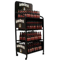 Two-tiers-liquor-rack