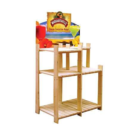 Wooden Retail Display