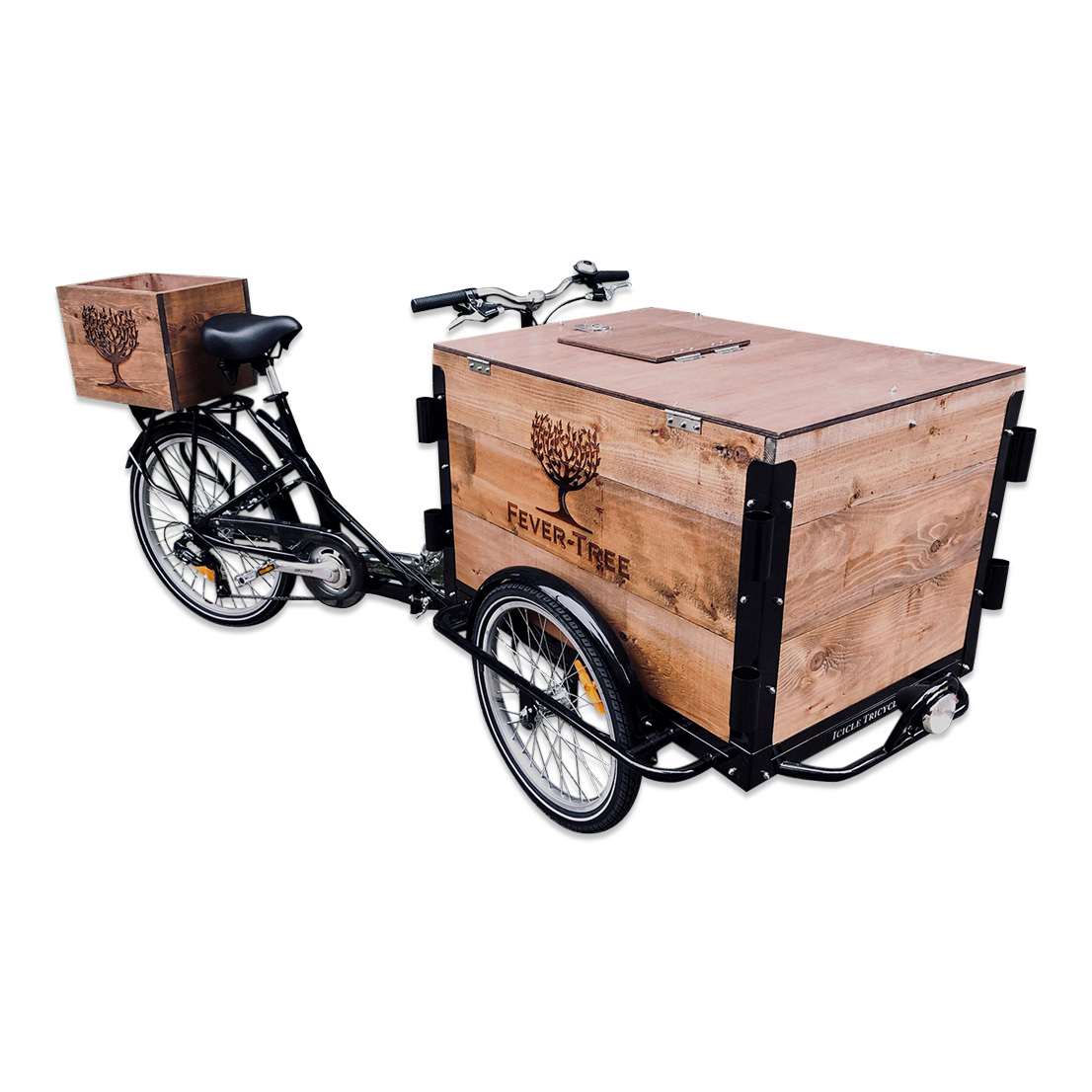 Wooden Cooler Bicycle