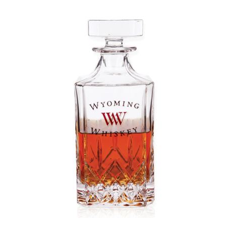 Custom Whiskey Glass Decanter