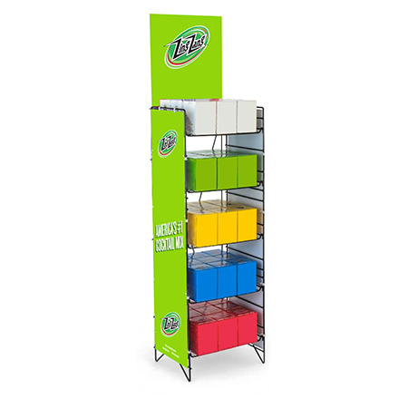 Zing Zang Metal Rack Display
