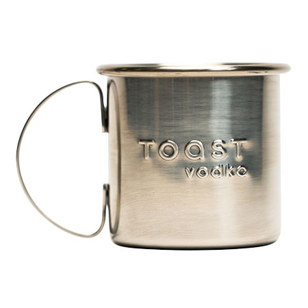 Embossed Stainless Steel Mug