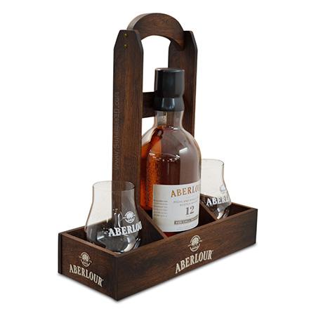 Wooden Bottle Service Tray