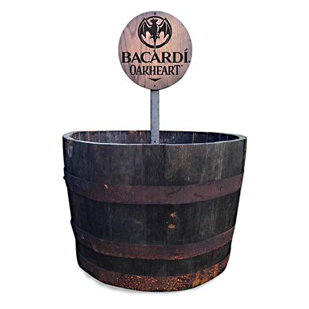 Barrel Shield Display
