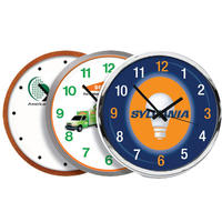 Battery-wall-clock