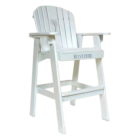 Custom Lifeguard Chair Display
