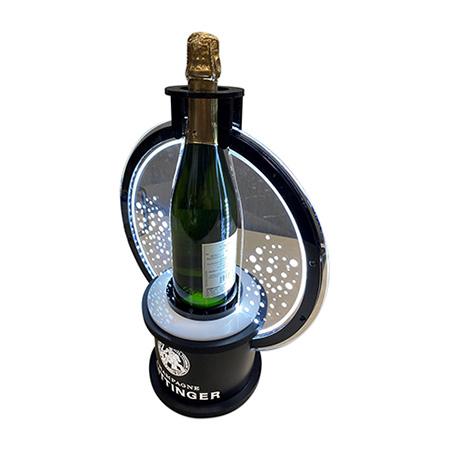 Champagne Taittinger Bottle Presenter