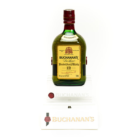 Buchanans-whiskey-bottle-display