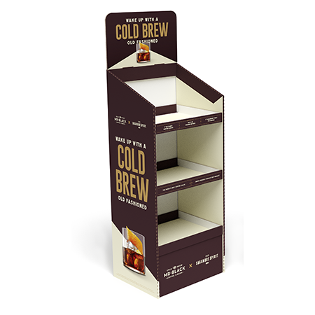 Cold Brew Corrugated Display