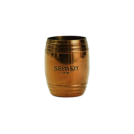 Copper Barrel Shot Glass