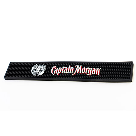 Counter Bar Rail Mat with Logo