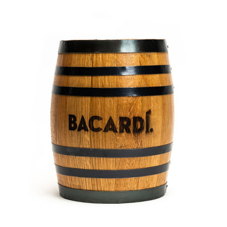 Whiskey Barrel Counter Tip Jar