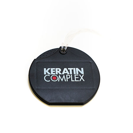 Custom 'Keratin Complex' Branded Business Card Holder