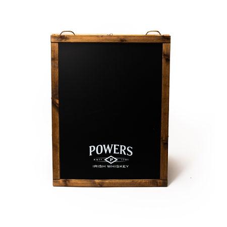 Custom Chalkboard Stand