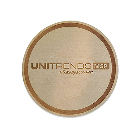 Engraved Wood Coaster