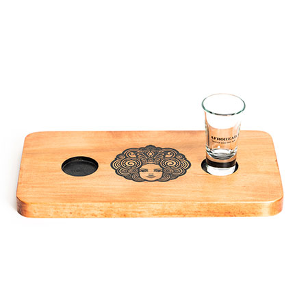 Wood Shot Flight Trays