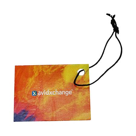 Full Color Elastic Hang Tag