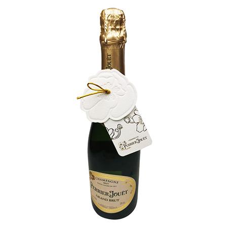 Custom Paper Champagne Bottle Necker