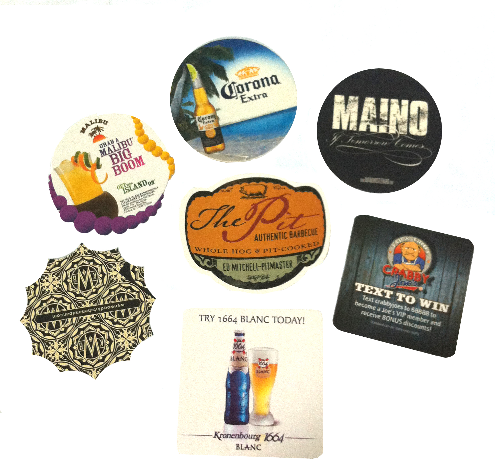 Custom-printed-bar-coasters
