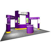 Custom-trade-show-booth