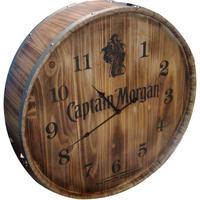 Custom-wood-wall-barrel-style-clock