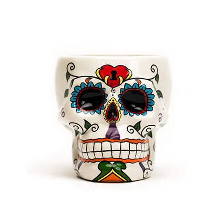 Skull Shaped Drink Vessel