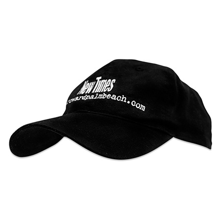 custom black cap