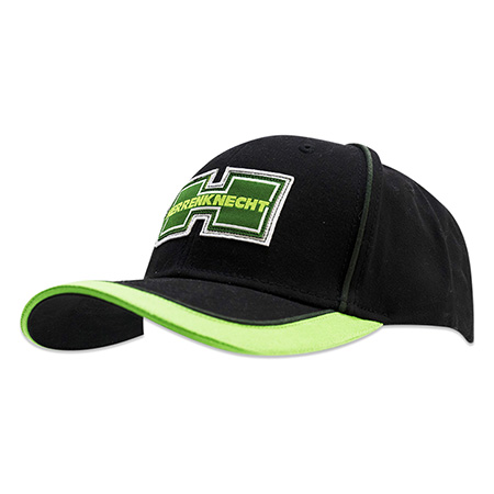 neon and black color hat