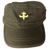 Embroidery-military-cap